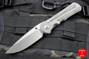 Chris Reeve Large Inkosi Black Canvas Micarta Drop Point LIN-1012