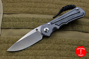 Chris Reeve Small Inkosi Black Canvas Micarta Drop Point SIN-1012