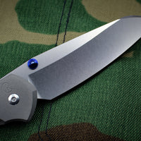 Chris Reeve Large Sebenza 21 LEFT HANDED Plain Insingo Edge L21-1009