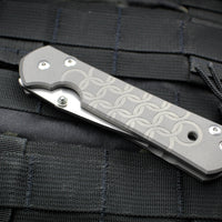 Chris Reeve Large Sebenza 21 CGG Chainmail Drop Point L21-1258