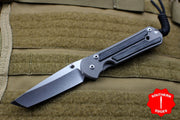 Chris Reeve Small Sebenza 21 Black Micarta Canvas Tanto Edge S21-1150