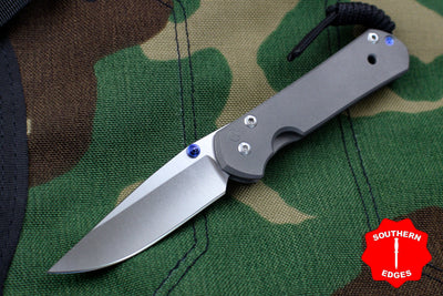 Chris Reeve Small Sebenza 21 Plain Drop Point S21-1000