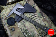 "RMJ Tactical Ragnarok 14 Tomahawk Dirty Olive Green Handle 14"" Overall"