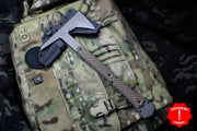 "RMJ Tactical Ragnarok 14 Tomahawk Hyena Brown Handle 14"" Overall"