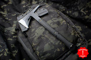 "RMJ Tactical Ragnarok 14 Tomahawk Textured Black Out Handle 14"" Overall"