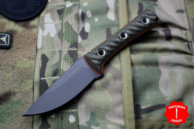 RMJ Tactical Utsidihi Fixed Blade Blaze Olive G-10 Handle