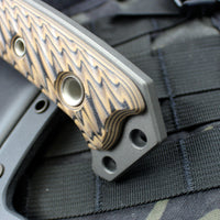 RMJ Berserker with Hyena Brown G-10 Grip