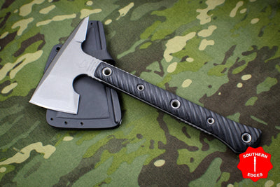 RMJ Tactical Jenny Wren Spike Tomahawk Black G-10