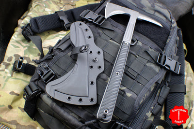 RMJ Tactical Kestrel Feather Black Tomahawk 13
