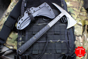 "RMJ Tactical Kestrel Black Tomahawk 13"" Handle"