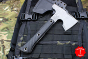 RMJ Tactical Mini Jenny Hammer Poll Tomahawk with Hammer End Black G-10