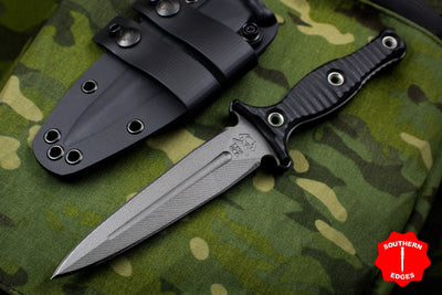 RMJ Black Raider Dagger Fixed Blade Combat Knife