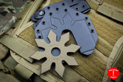 RMJ Snowflake Tactical Ninja Star - Burnt Bronze