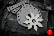 RMJ Snowflake Tactical Ninja Star - Tungsten