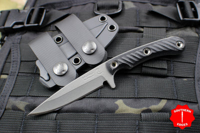 RMJ Tactical Sparrow small EDC Knife Black G-10 Handle