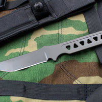 Spartan Blades Formido Fixed Blade Black and Black Molle Sheath