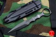 Spartan Blades CQB Fixed Blade Tool Black with Black Sheath
