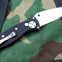 Spyderco Autonomy 2 Black G-10 Automatic Satin Drop Point Blade C165GP2