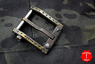 Starlingear Blackside Customs One Off Patriot Buckle