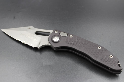 Microtech Stitch Knife Apocalyptic Part Serrated Blade 169-11 AP