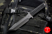 Strider Knives BTSS Fixed Blade with Bastinelli Knives Cord-wrapped Handle