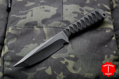 Strider Knives WP Tanto Large Fixed Blade with Bastinelli Knives Cord-wrapped Handle
