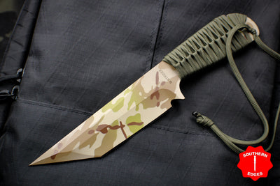 Strider Knives WP Tanto Fixed Blade with Arid Multicam