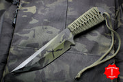 Strider Knives WP Tanto Fixed Blade with Black Multicam