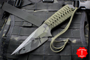 Strider Knives WP Drop Point Fixed Blade with Black Multicam Finish