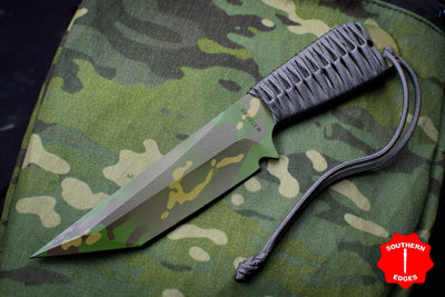 Strider Knives WP Tanto Fixed Blade with Tropic Multicam