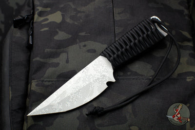 Strider Knives WP Fixed Blade Bellied Tanto - Prototype Pearl Half Tone Camo