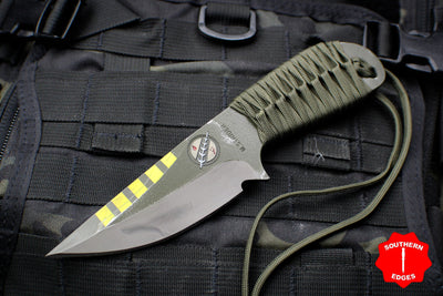 Strider Knives WP Drop Point Fixed Blade Special Mandalorian Run -Alpha-