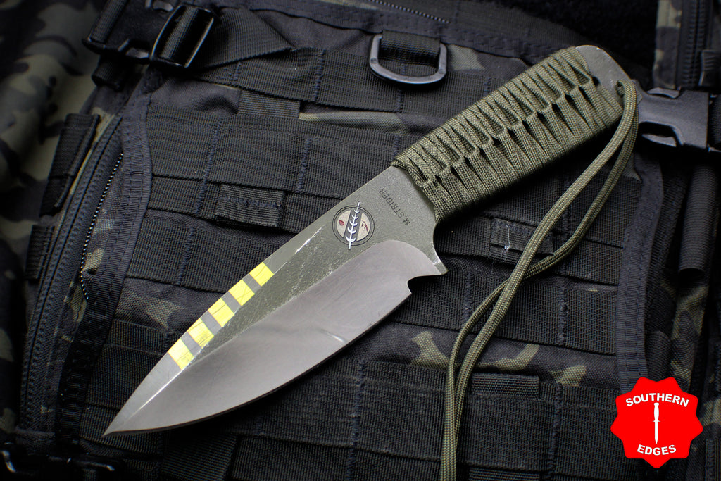 Strider Knives WP Drop Point Fixed Blade Special Mandalorian Run -Bravo-