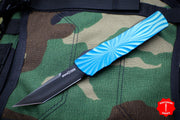 Twist Tighe LARGE Tanto Edge OTF Blue with Black Blade 1300-5 BL