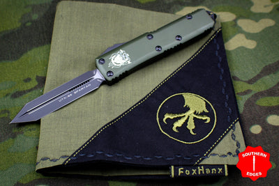 Microtech 2018 USN Special Show Set Spartan UTX-85 w Microtech Fox Hanx