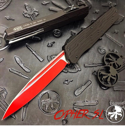 Microtech Cypher SE Limited Edition Sith Lord with Standard Hardware 241-1 SL