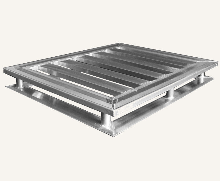 40x48 4-way Heavy-Duty  Aluminum Pallet