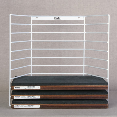 Wire Storage Rack - Holds 10 Super Jumbo Dies