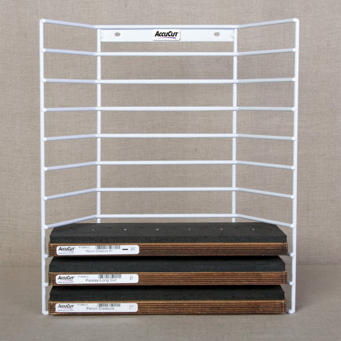 Wire Storage Rack - Holds 10 Long Cut Dies
