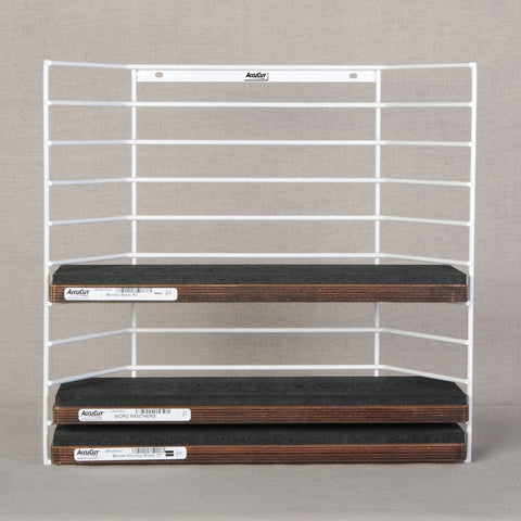 Wire Storage Rack - Holds 10 Extra Long Cut Dies