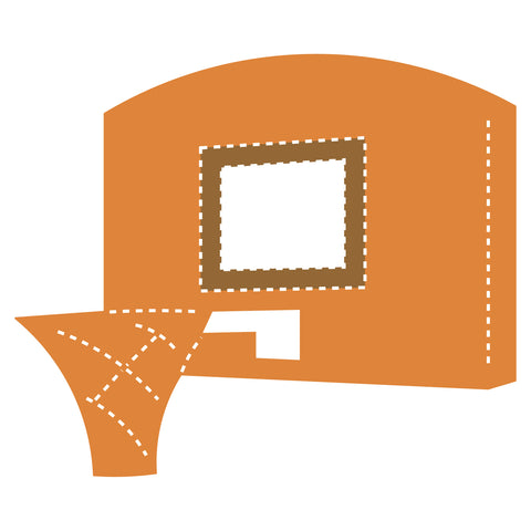 Basketball-Hoop & Backboard