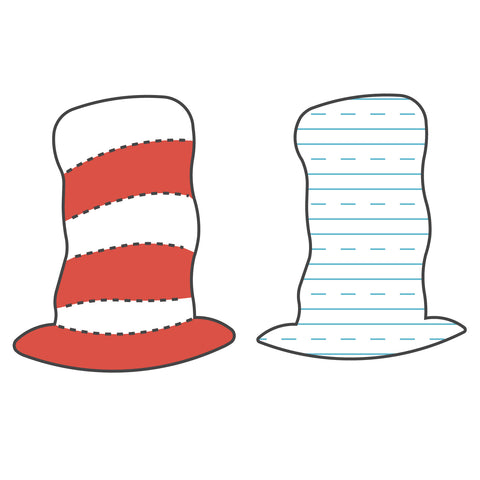 Book-Hat Striped