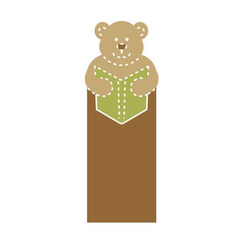 Bookmark-Teddy Bear #2
