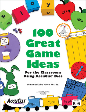 100 Great Game Ideas Using AccuCut Dies