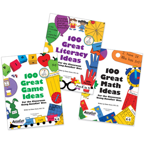 100 Great Ideas Using AccuCut Dies 3-Book Set