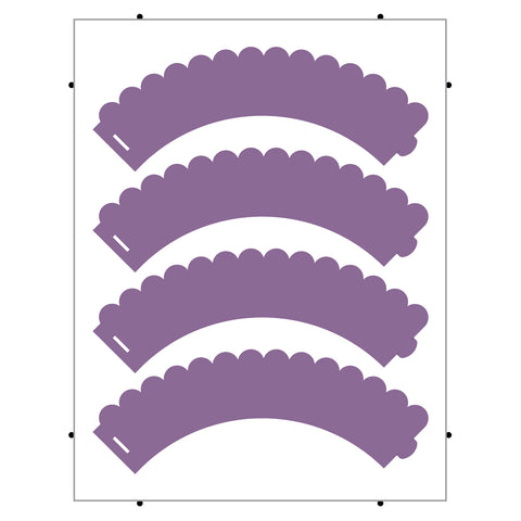 Cupcake Wrap-Scalloped (Pinnovation)