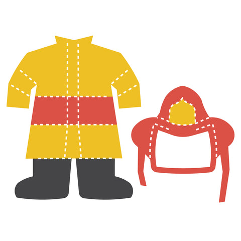 Community Helper Clothes-Firefighter