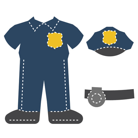 Community Helper Clothes-Police Officer