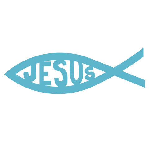 Christian Fish-Jesus