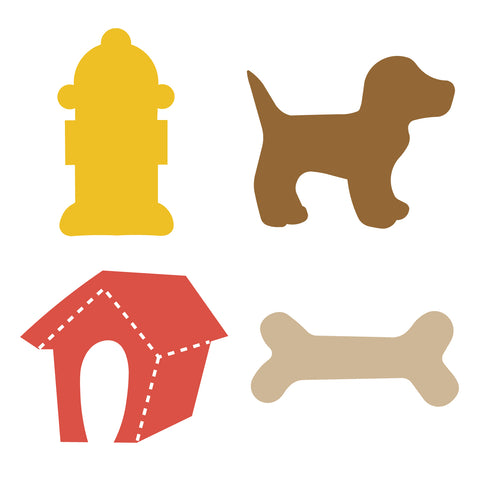 Dog Lover, Dog House, Bone, Dog, Puppy, Fire Hydrant